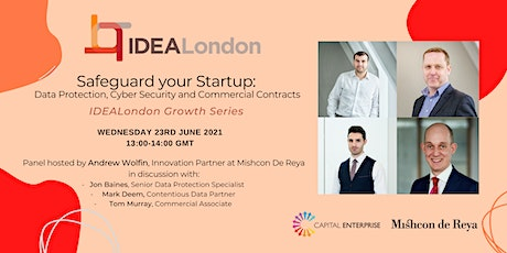 IDEALondon Growth Series: Safeguard Your Startup tickets