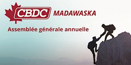 Assemblée générale annuelle CBDC Madawaska billets