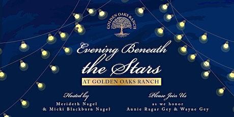 Evening Beneath the Stars at Golden Oaks Ranch tickets