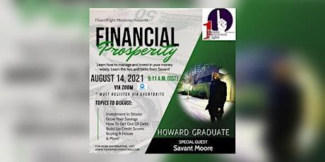 Financial Prosperity Class ingressos