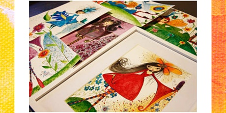 Whimsical Watercolour Fairy - Golden Mile Art &Wine Night tickets