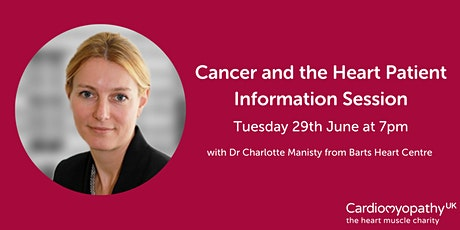 Cancer and the Heart Patient Information Session tickets