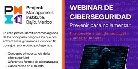 Ciberseguridad - Prevenir para no lamentar ... entradas