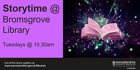 Storytime at Bromsgrove Library tickets
