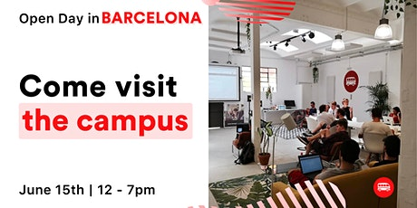 Open Day in the Barcelona Campus tickets