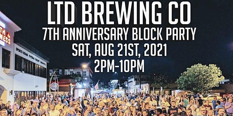 LTD Brewery 7th Anniversary Block Party tickets