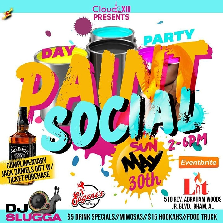 THE PAINT SOCIAL DAY PARTY image
