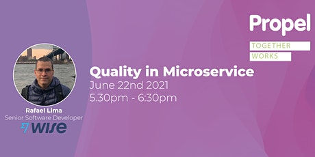 Quality in Microservice Tickets