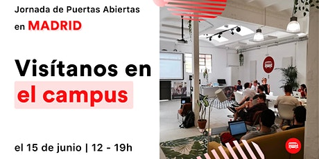 Open Day in the Madrid Campus entradas
