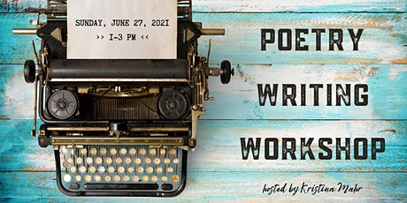 Poetry Writing Workshop! tickets