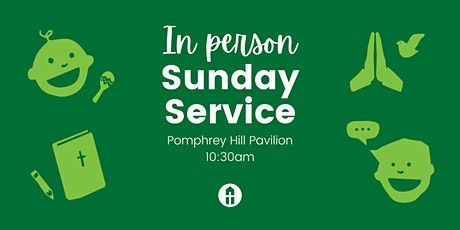 In-person Sunday Service + Kids Group tickets