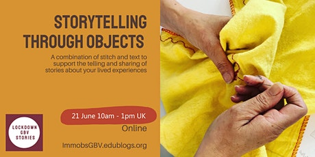 Storytelling Through Objects - Creative workshop for women who live in UK tickets