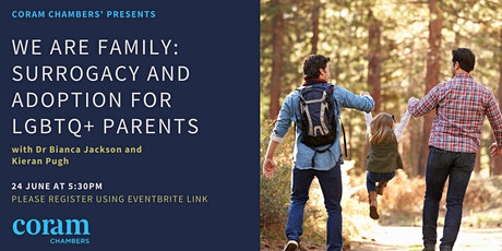 We are family: Surrogacy and Adoption for LGBTQ+ Parents tickets