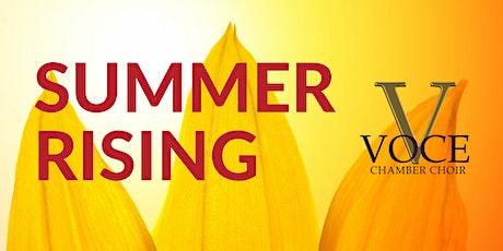 Summer Rising - 10 July, 2021, 18:30 tickets