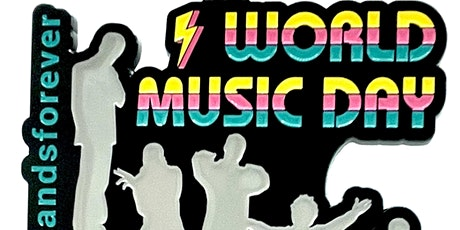 2021  World Music Day 1M 5K 10K 13.1 26.2-Participate from Home. Save $5! tickets