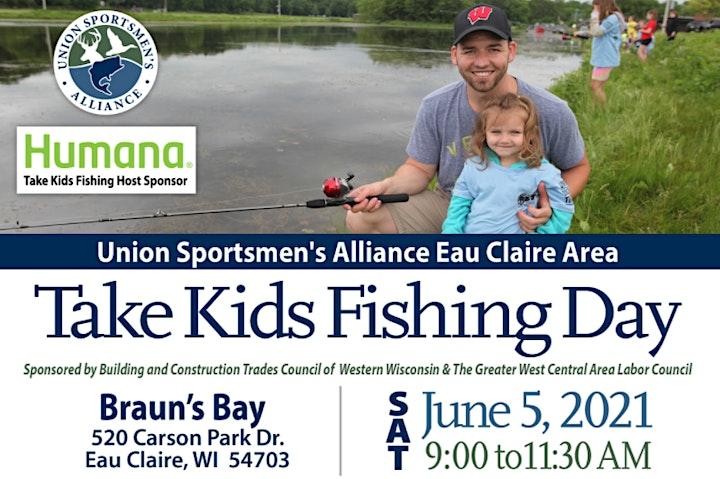 2021 Take Kids Fishing Eau Claire image