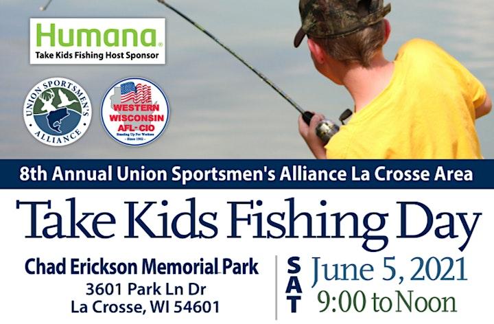 2021 La Crosse Take Kids Fishing image