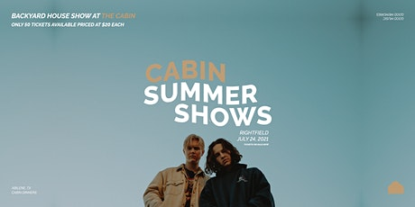 Cabin Summer Shows: Rightfield tickets