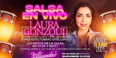 "Live Salsa Night featuring:  ""Laura Gonzqui""! tickets"