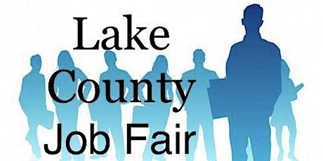 Lake County Job Fair tickets