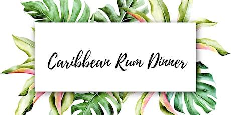 Caribbean Rum Dinner tickets