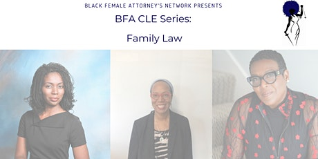 BFA CLE Series- Family Law tickets