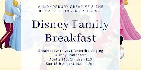 Disney Family Breakfast tickets
