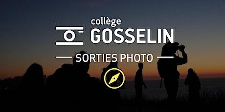 Sortie photo - Le portrait extérieur en lumière naturelle avec A.J. Gentile billets
