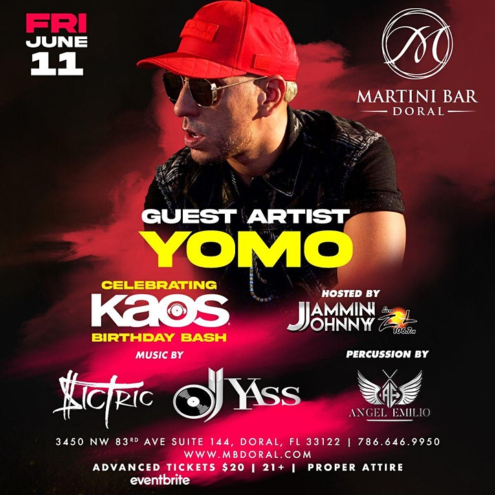 Kaos Birthday Bash with Special Guest YOMO image
