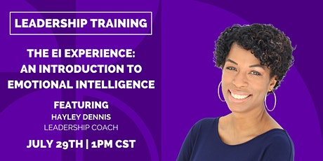 The EI Experience - An Introduction to Emotional Intelligence tickets
