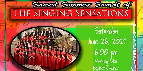 Sweet Summer Sounds of The Singing Sensations tickets
