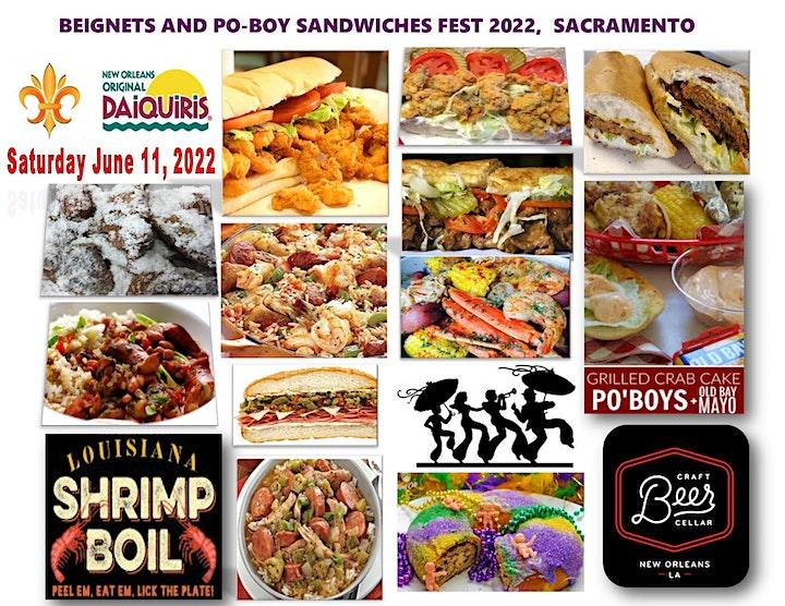 BEIGNETS and PO-BOY SANDWICHES FEST 2022 image