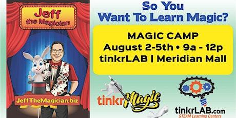 tinkrMAGIC Camp at tinkrLAB tickets