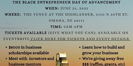 Black Entrepreneur Day tickets