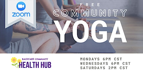 Community Yoga with Mikky (ONLINE) medium/slow/gentle/flow tickets