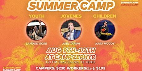 Kids Camp 21 Worker Registration tickets
