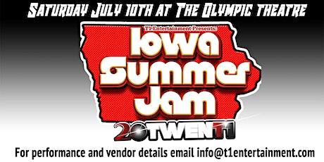 Iowa Summer Jam 2021 tickets