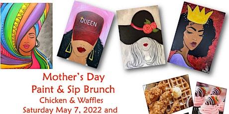 Mother's Day Brunch, Chicken & Waffles, Paint, Mim tickets