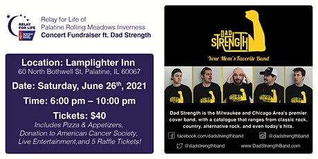 Relay for Life Fundraiser at Lamplighter Inn - Palatine, IL tickets