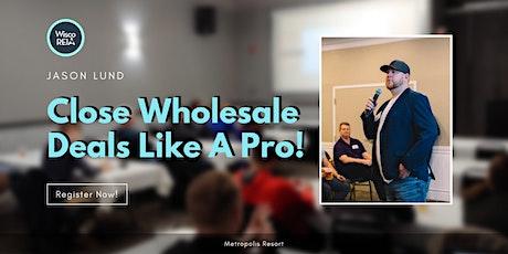 WiscoREIA Eau Claire: Learn to Close Wholesale Real Estate Deals Like a Pro tickets