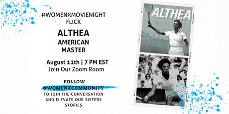 WomenX Movie Night | Althea American Masters tickets