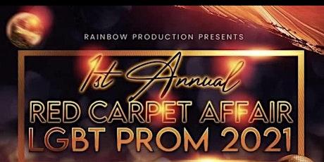 1ST ANNUAL RED CARPET AFFAIR LGBT PROM  2021 tickets