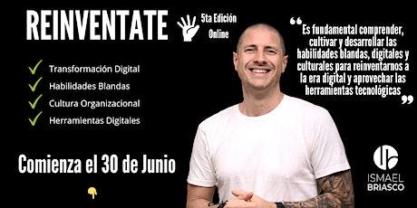 REINVENTATE - 5ta Edición - Participantes de otros países (no Argentina) entradas