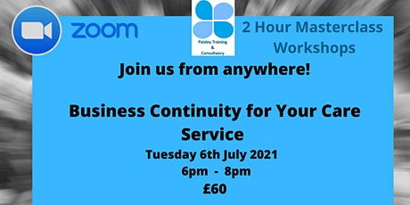 Business Continuity for Your Care Service tickets