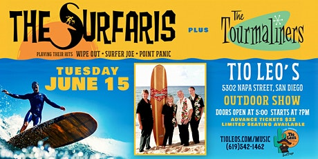 The Surfaris + The Tourmaliners - Live At Tio Leo's San Diego tickets