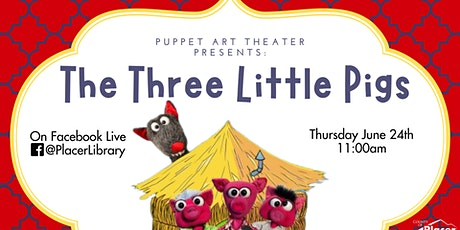 Puppet Art Theater Presents: The Three Little Pigs! on Facebook Live tickets