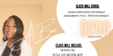 Brow Lamination Master Course tickets