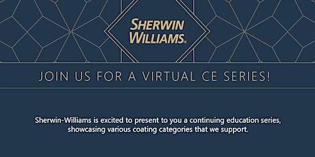 Sherwin-Williams June Virtual CE Series tickets