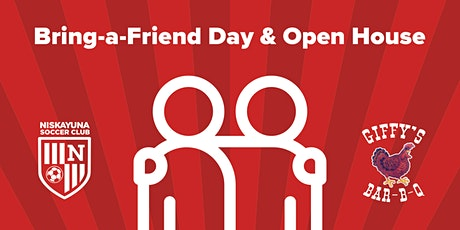Bring-a-Friend Day & Open House tickets