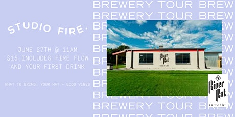 Studio Fire Brewery Tour with River Rat Brewery tickets